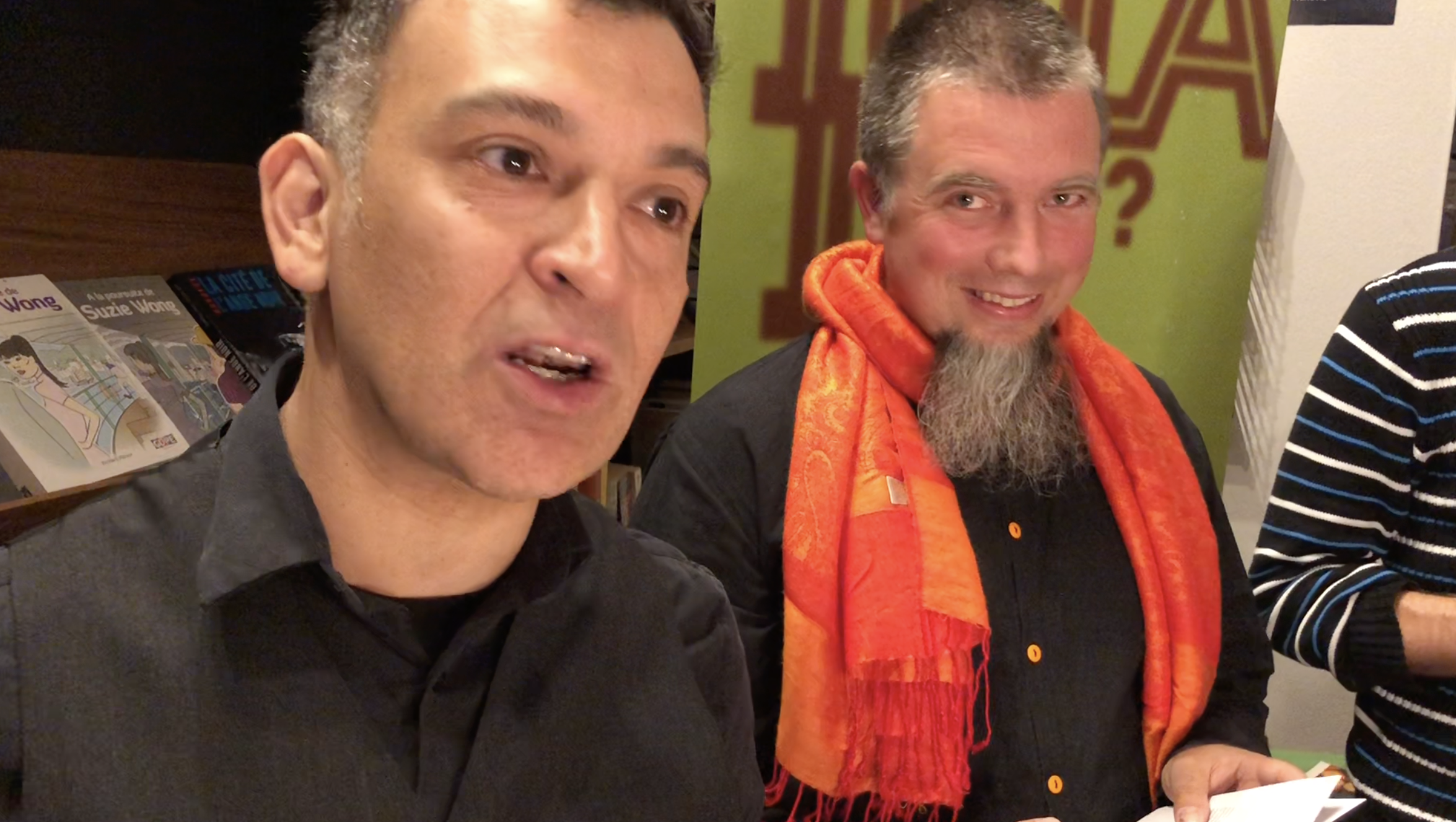 Pablo Jofré et Pierre Fankhauser